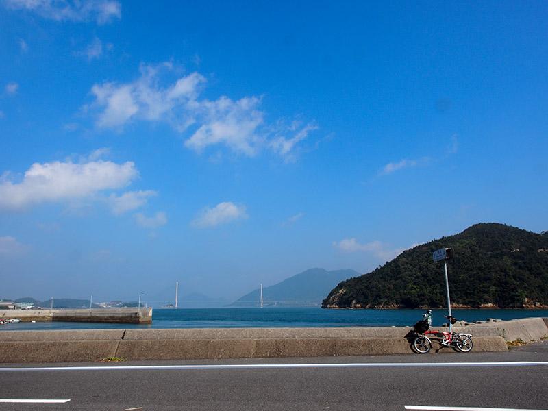 多々羅大橋(大三島から)