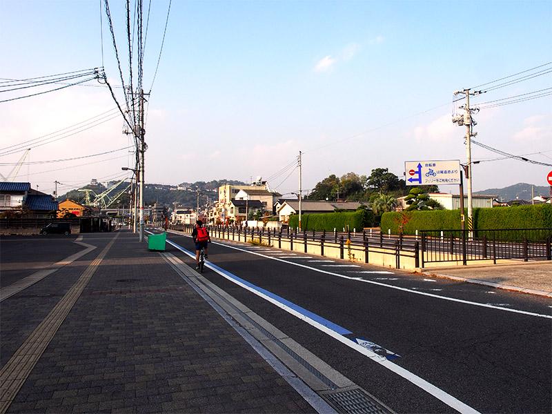 向島 富浜橋付近