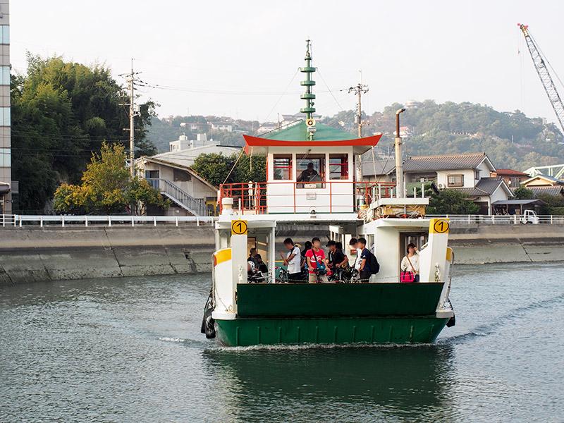 尾道‐向島渡船