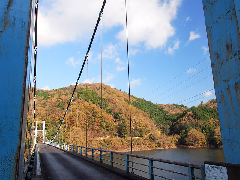 室生湖 赤人橋