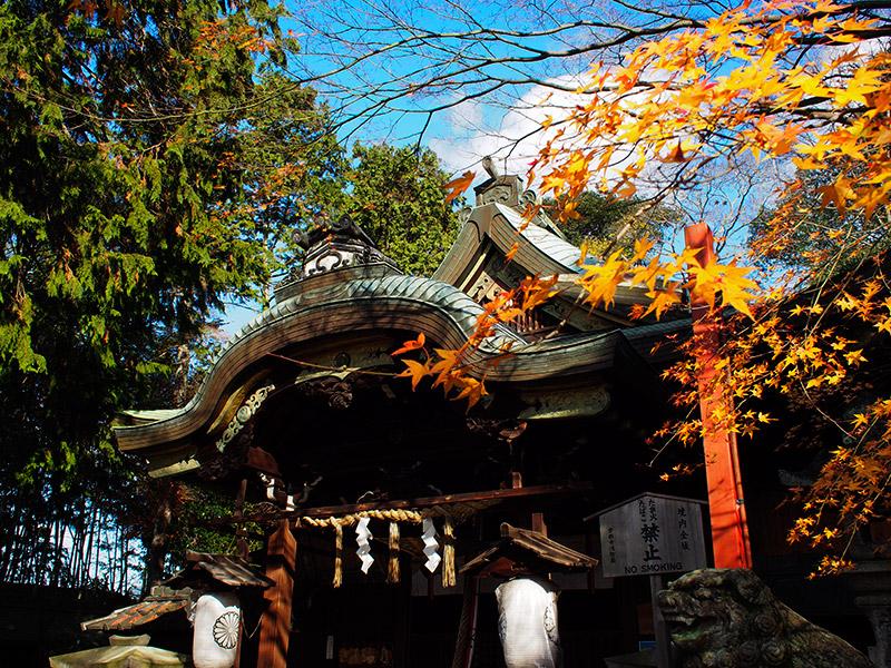 粟田神社 拝殿