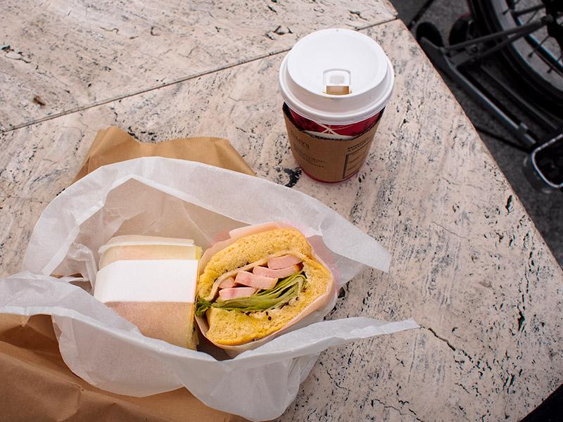 サンドイッチの店3のサンドイッチ
