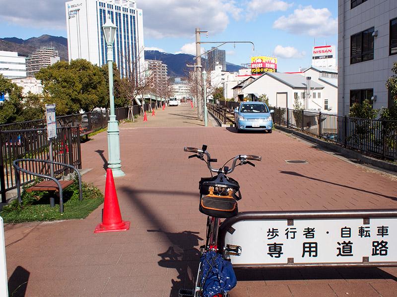 臨港線跡 遊歩道