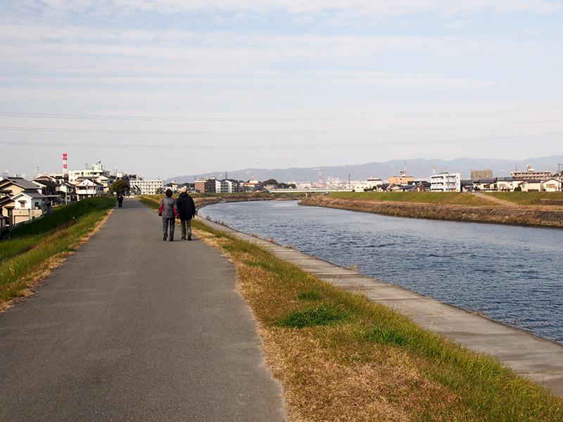 猪名川・藻川自転車道 猪名川ルート