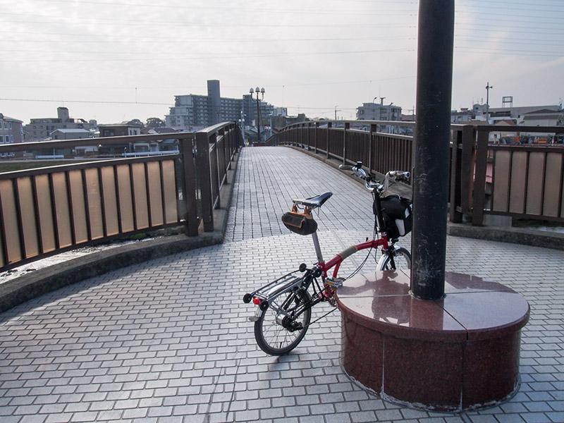 猪名川 新利倉橋歩道橋