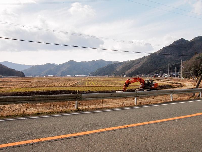 氷上町 加古川沿い