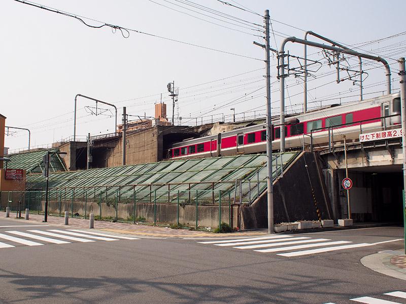 JR新長田駅付近