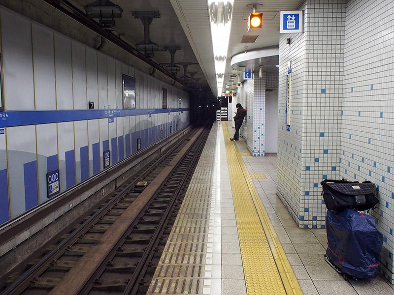 神戸地下鉄海岸線 駒ケ林駅ホーム