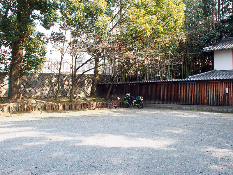 随心院門跡 駐輪