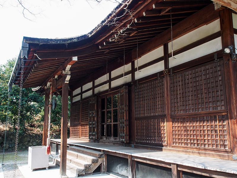 勧修寺 本堂