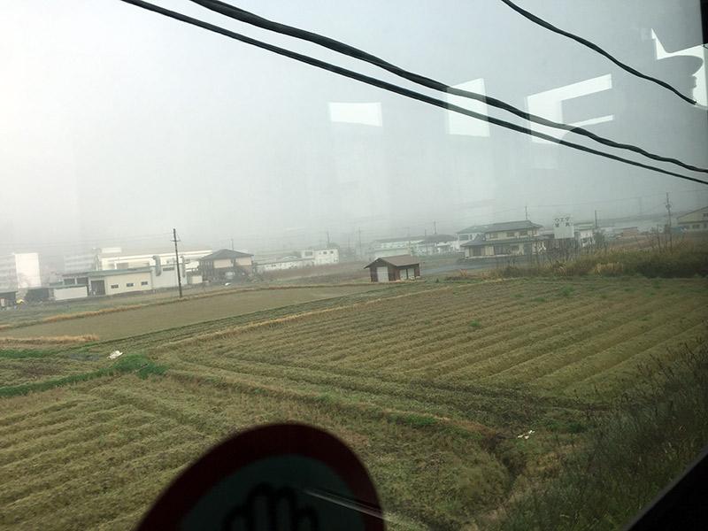 JR福知山線 濃霧