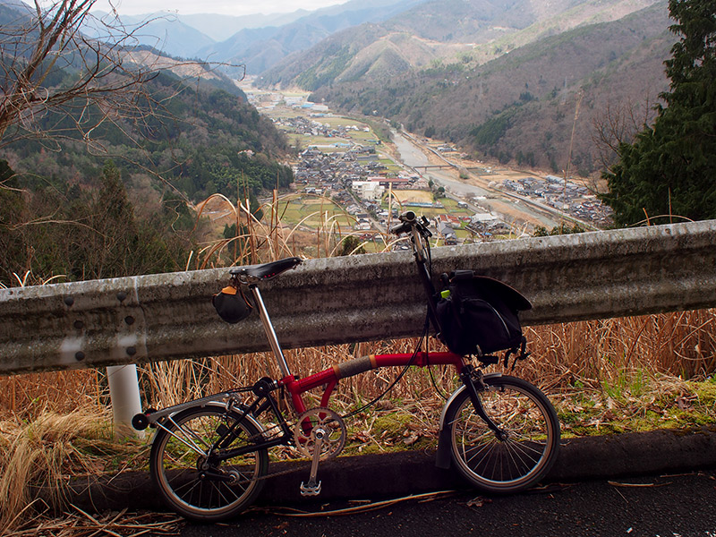 樽見の大桜 坂