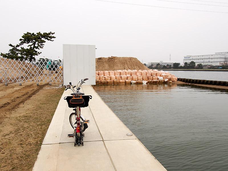 武庫川 河道掘削工事