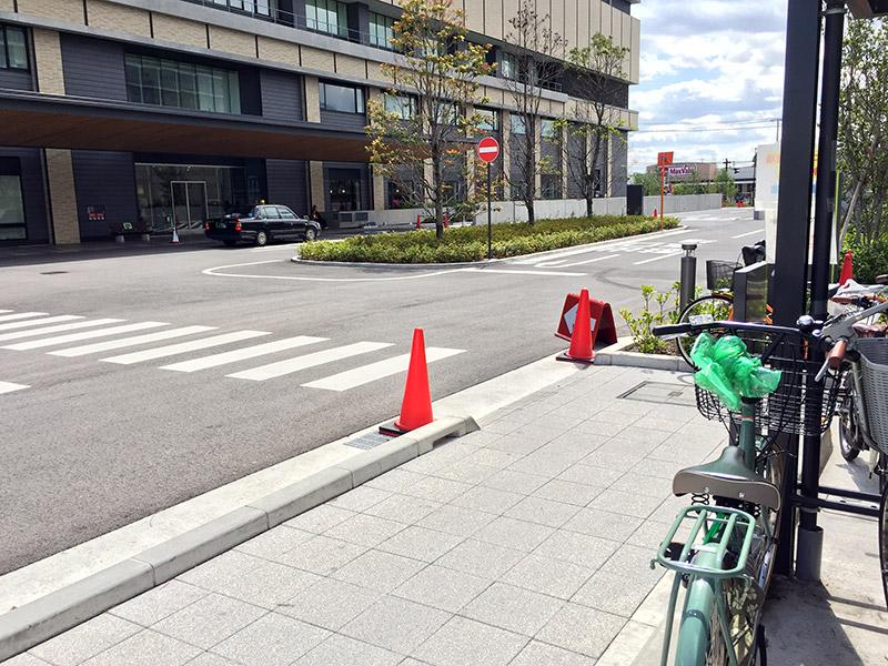 兵庫県立尼崎総合医療センター 駐輪場