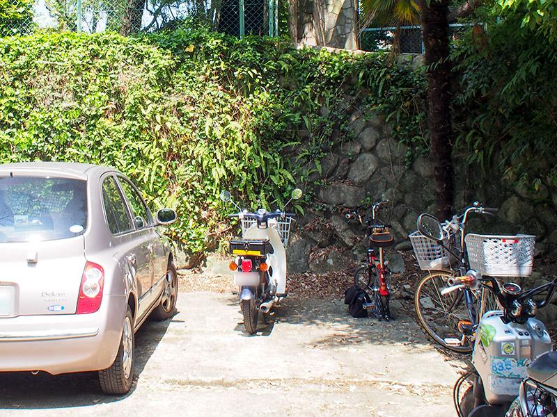 旧松本邸 駐輪