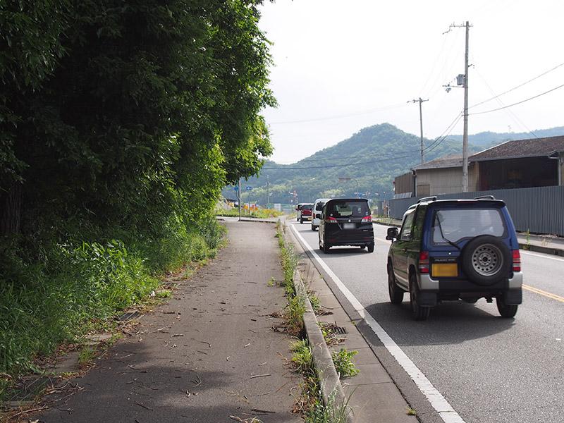 R372 自転車歩行者道