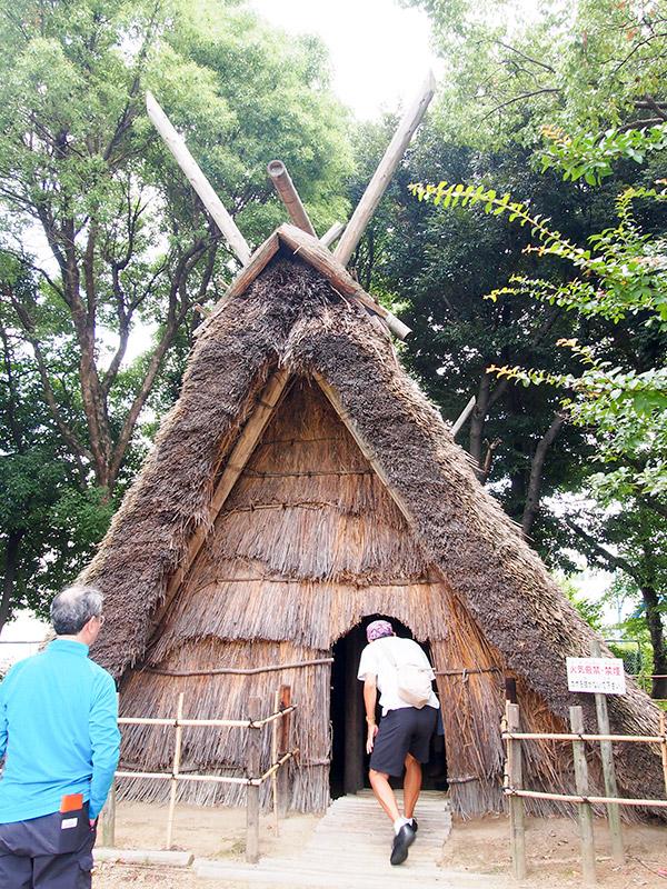 田能遺跡 法形竪穴住居