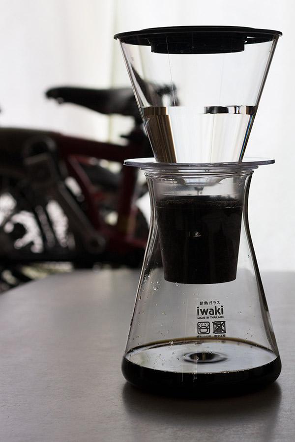 iwaki water drip coffee server