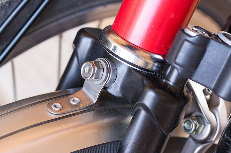 Brompton front fork