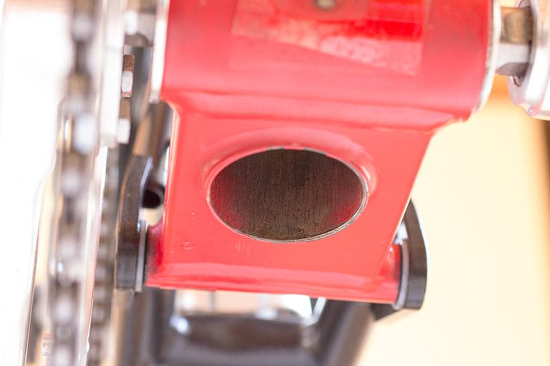 Brompton seat tube