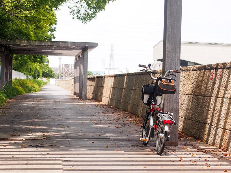 北堀運河 ウッドデッキ 2016