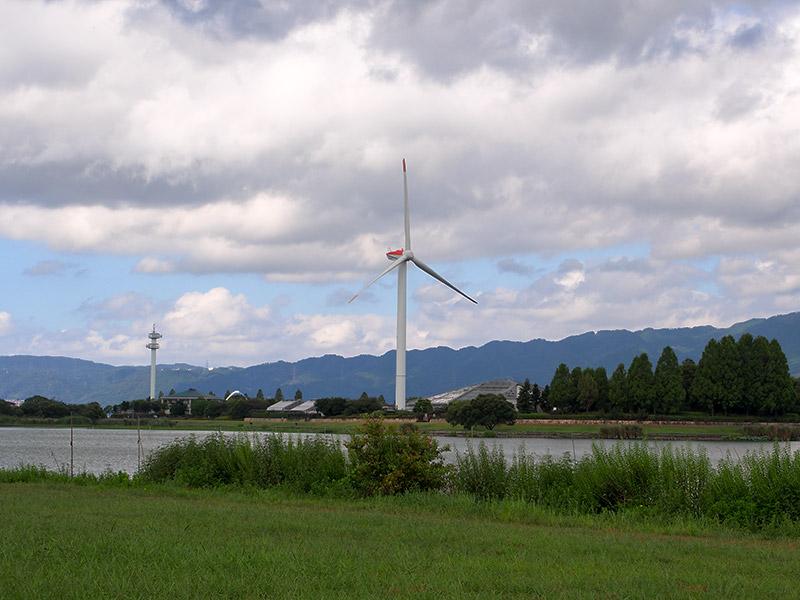 烏丸半島 風車 2016