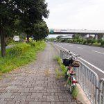 八幡木津自転車道を走る1