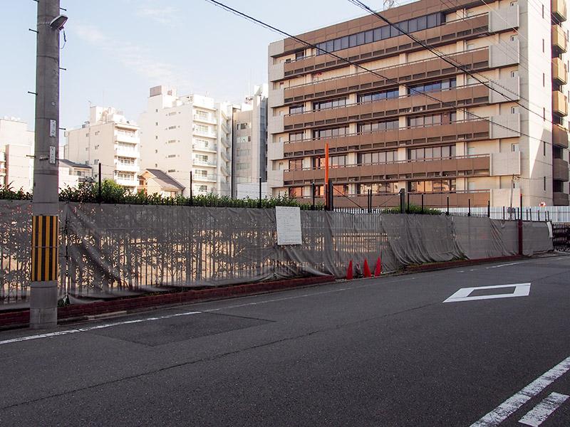 寺町臨時自転車駐車場跡地