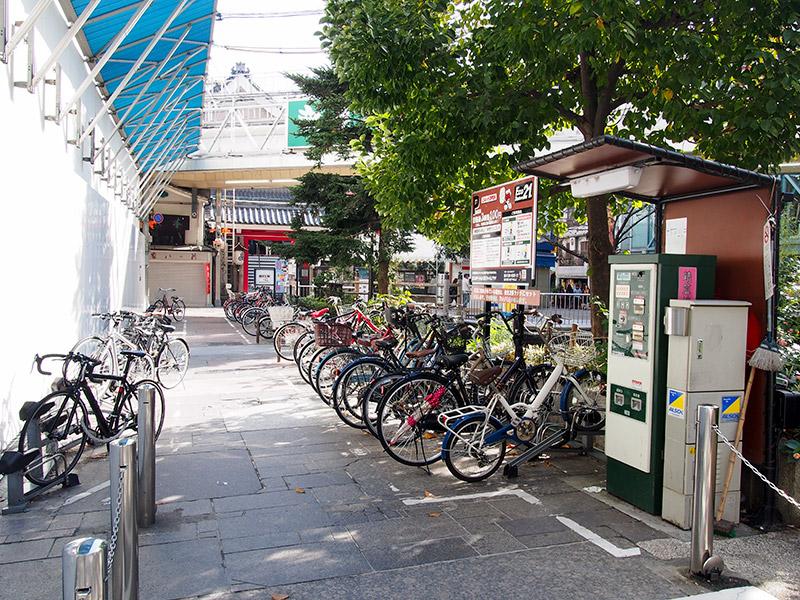 新京極六角公園 駐輪場