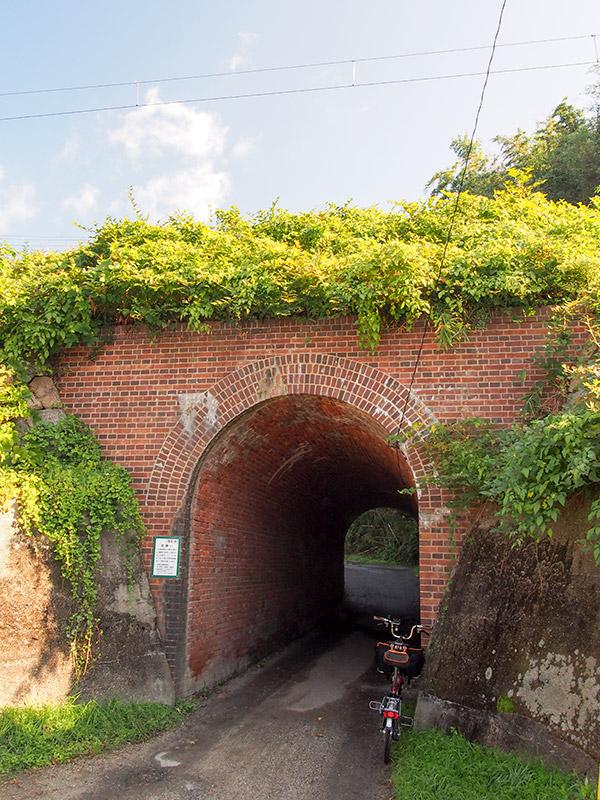 奈良線 隧道