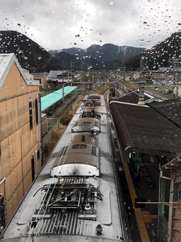 福知山線 石生駅