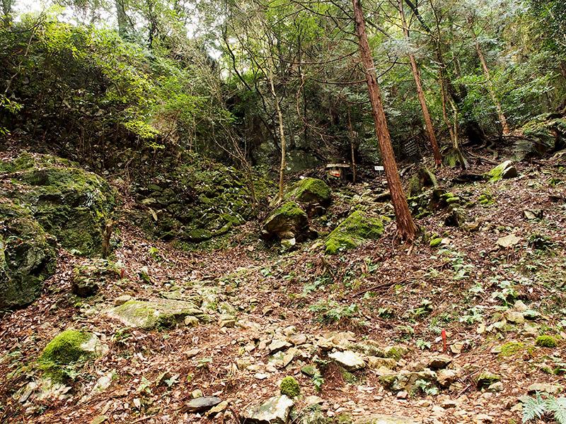 五台山美和峠登り口