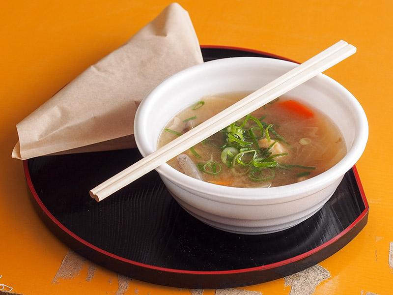 円通寺 豚汁と大判焼