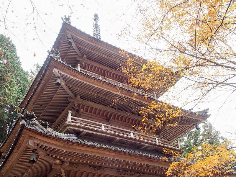 高源寺 多宝塔