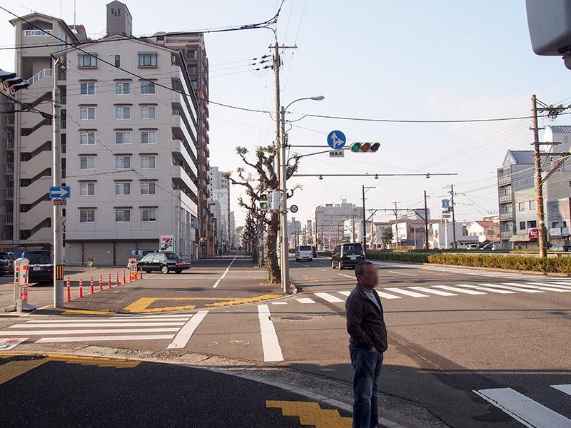 紀州街道 阪堺電軌沿い
