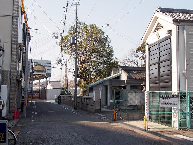 紀州街道 大津神社付近 2016