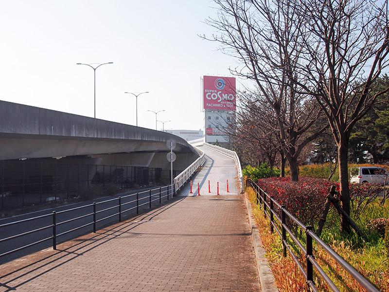 大阪府道29号 見出川付近