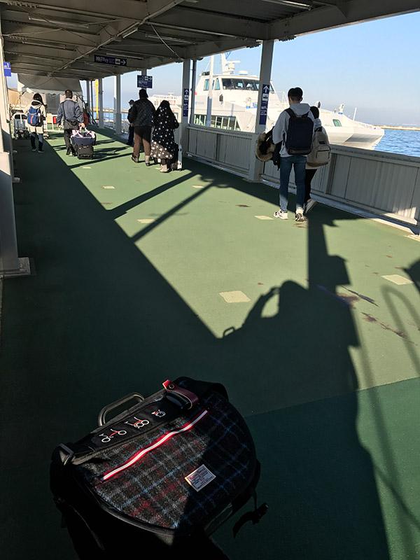 関西空港 ベイシャトル桟橋