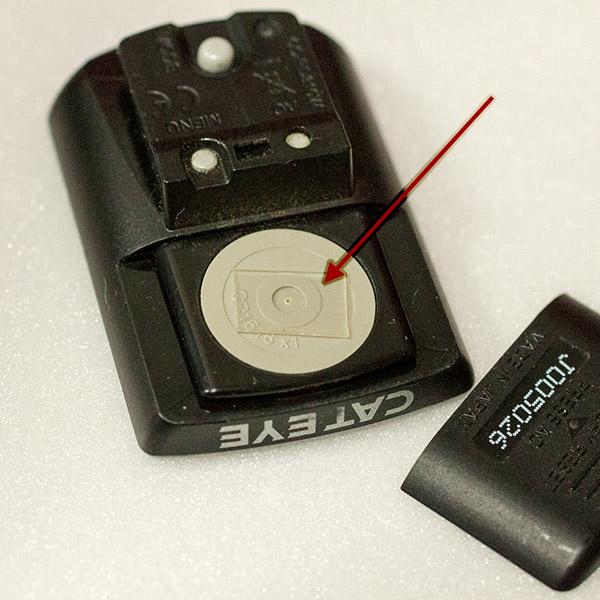 CC-RD310W 電池ブタ