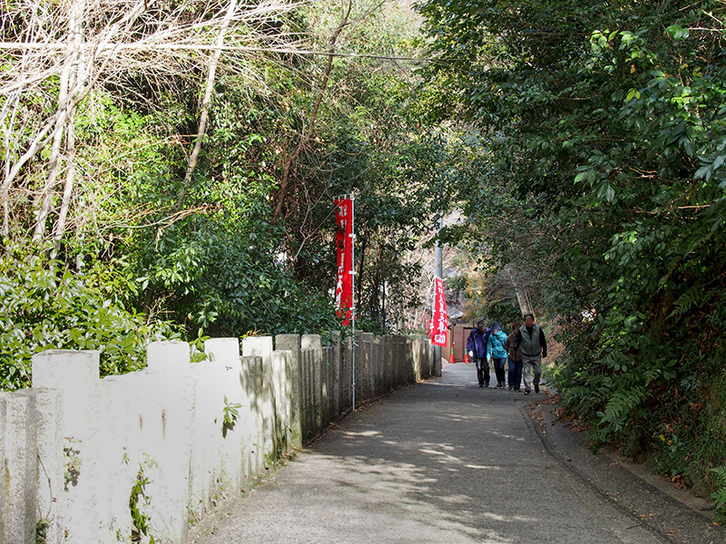 西江寺 参道