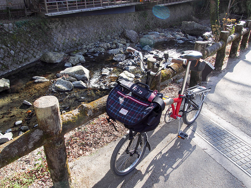 箕面川 滝道 2017