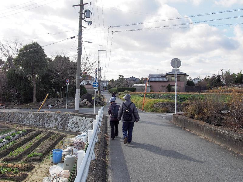 大阪府道9号 脇道