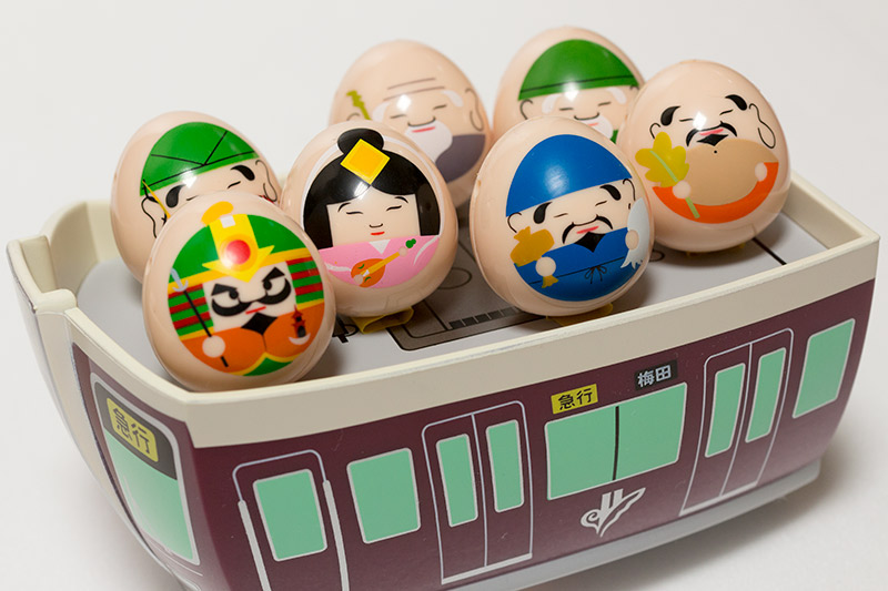 阪急沿線 西国七福神 記念品 2017