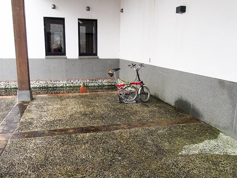 兵庫陶芸美術館 駐輪