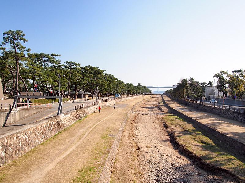 芦屋公園と芦屋川