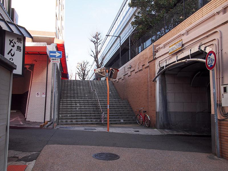 西国街道 阪神電車香櫨園駅付近 2017