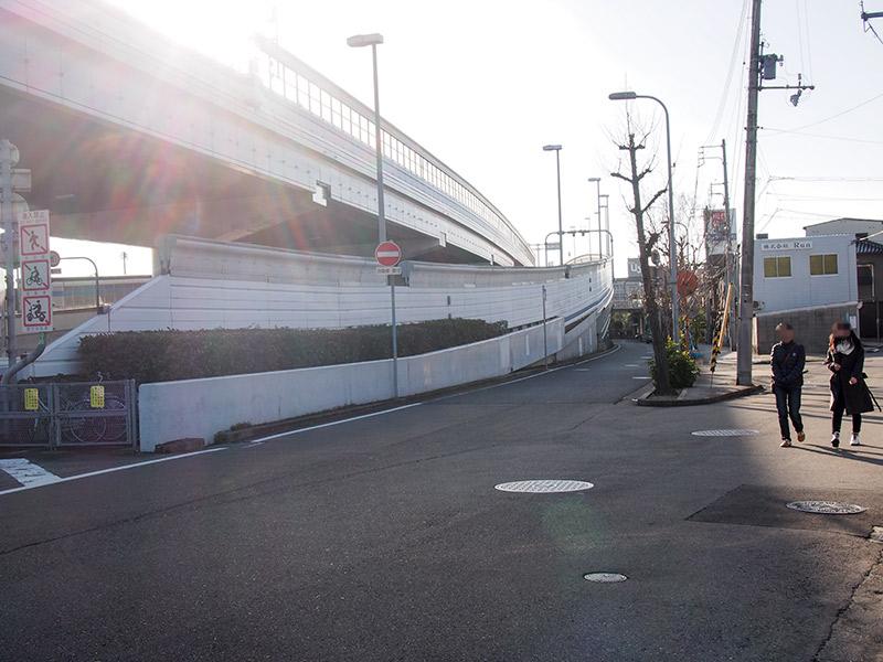阪神高速3号神戸線 西宮出口
