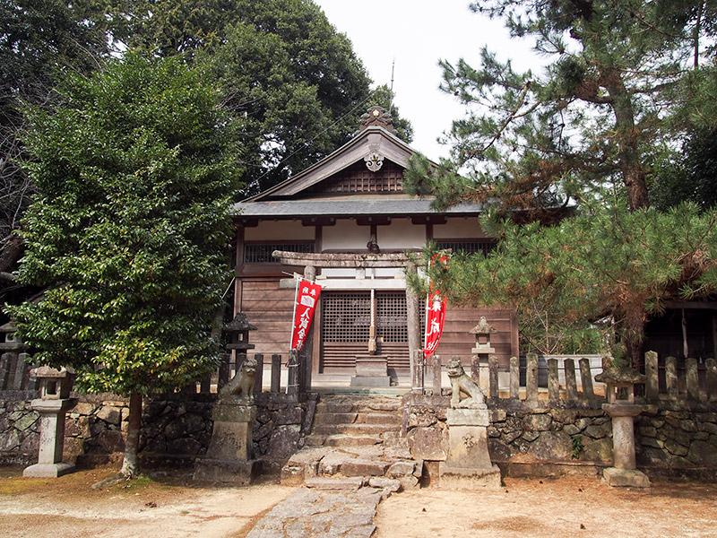 末西天満宮 社殿 2017