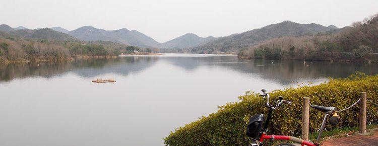 千丈寺湖 青野ダム記念館付近 2017