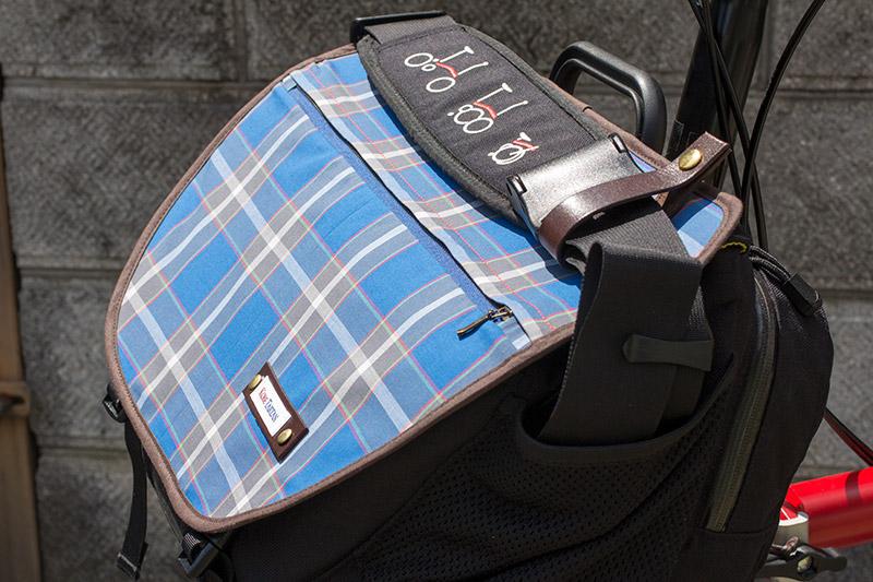 神戸タータン Sバッグ フラップ
